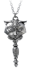 Load image into Gallery viewer, Alchemy of England Sacred Cat Vanitas Pendant