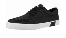 Load image into Gallery viewer, T.U.K. Black Twill Sneaker