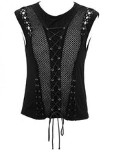 Load image into Gallery viewer, Devil Fashion Semi-Sheer Tank