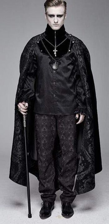 Devil Fashion Black Palace Cloak