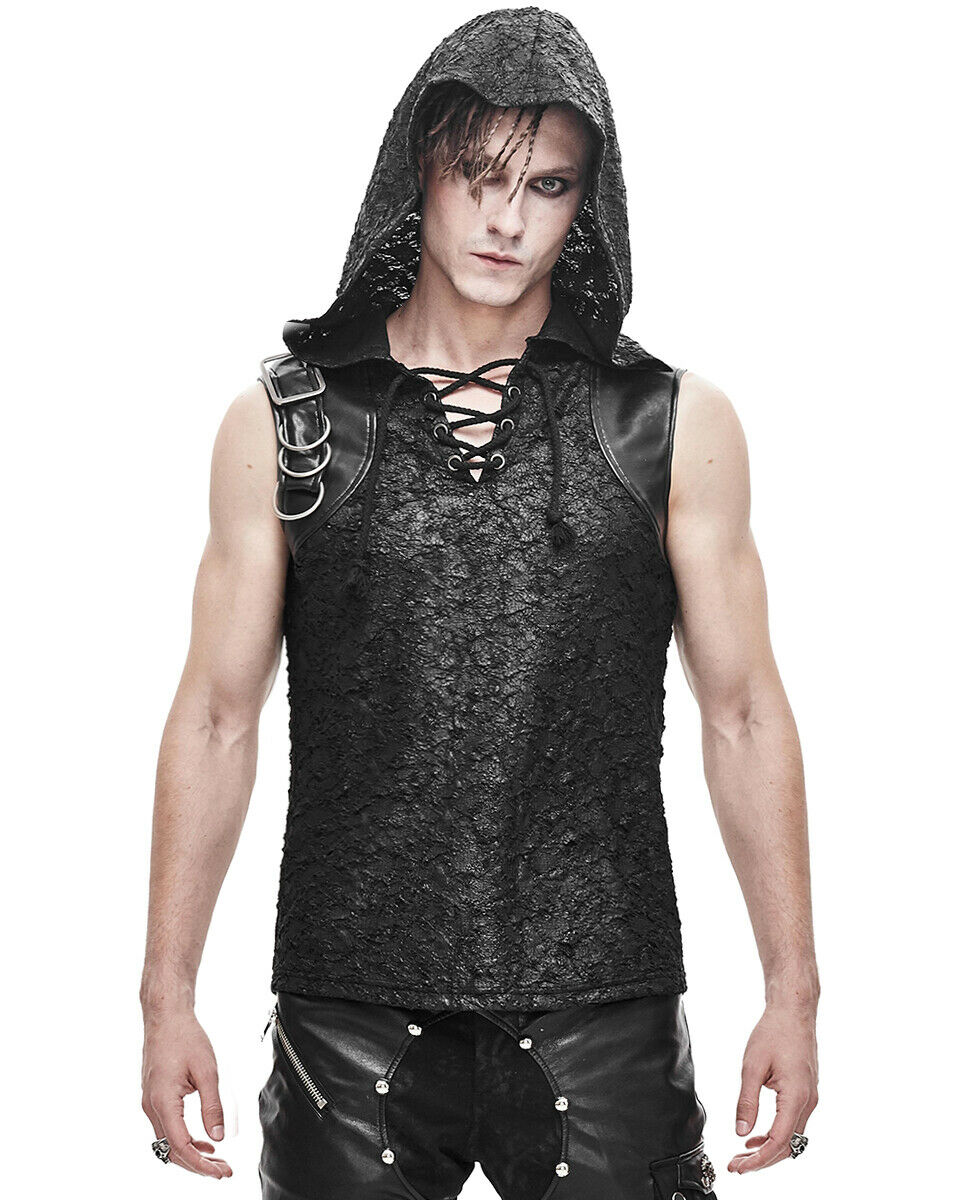 Devil Fashion Apocalyptic Hooded Tank