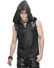 Load image into Gallery viewer, Devil Fashion Apocalyptic Hooded Tank