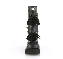 Load image into Gallery viewer, Demonia Sprite-210 in Matte Black Vegan Leather