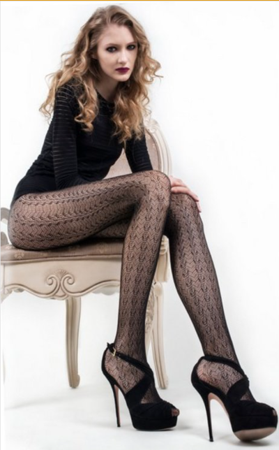 Gothic Revival in Lace Tights