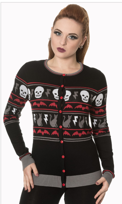 All Hallows Spooky Knit Sweater