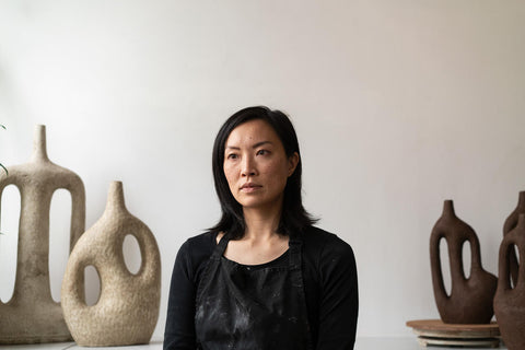 portrait de Viv Lee pour Volume Ceramics