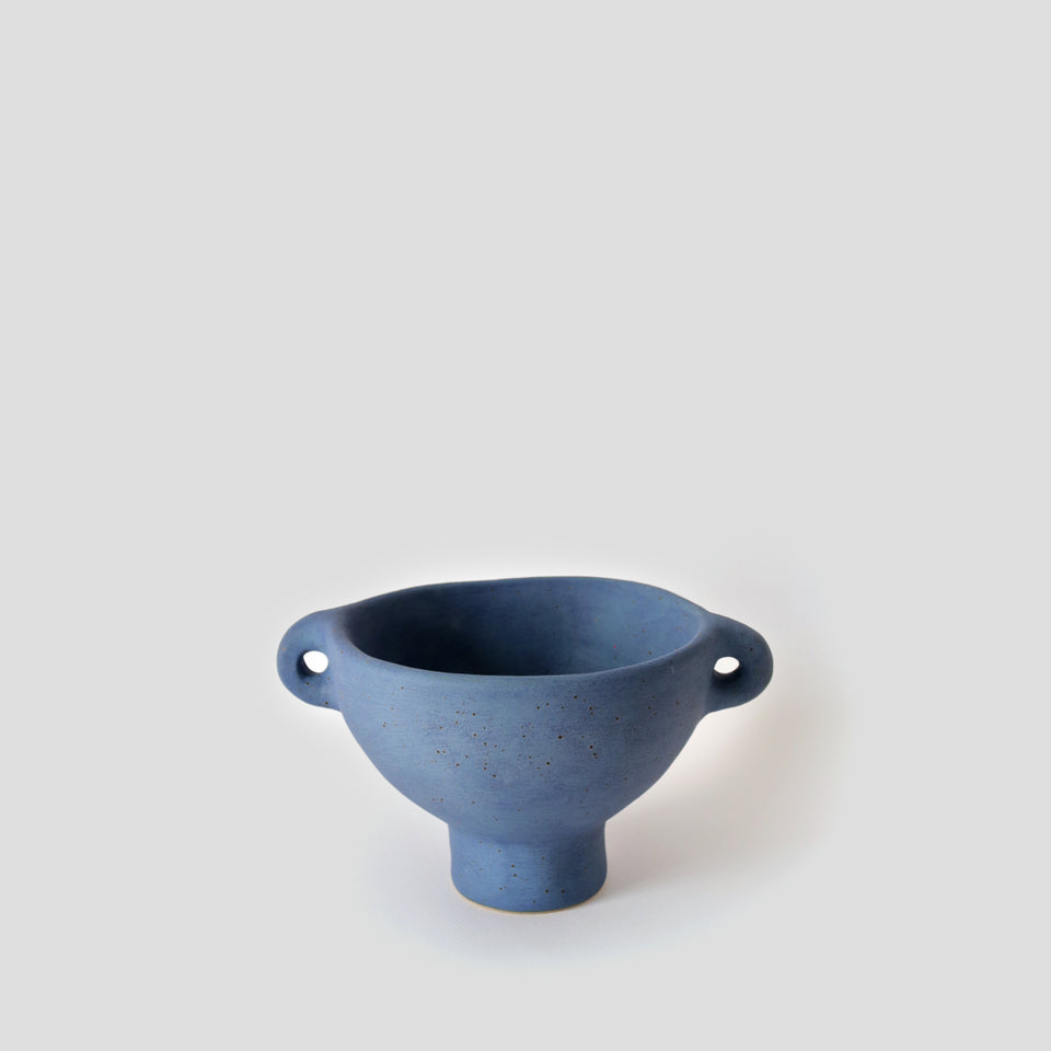 Suiban vase Midnight blue