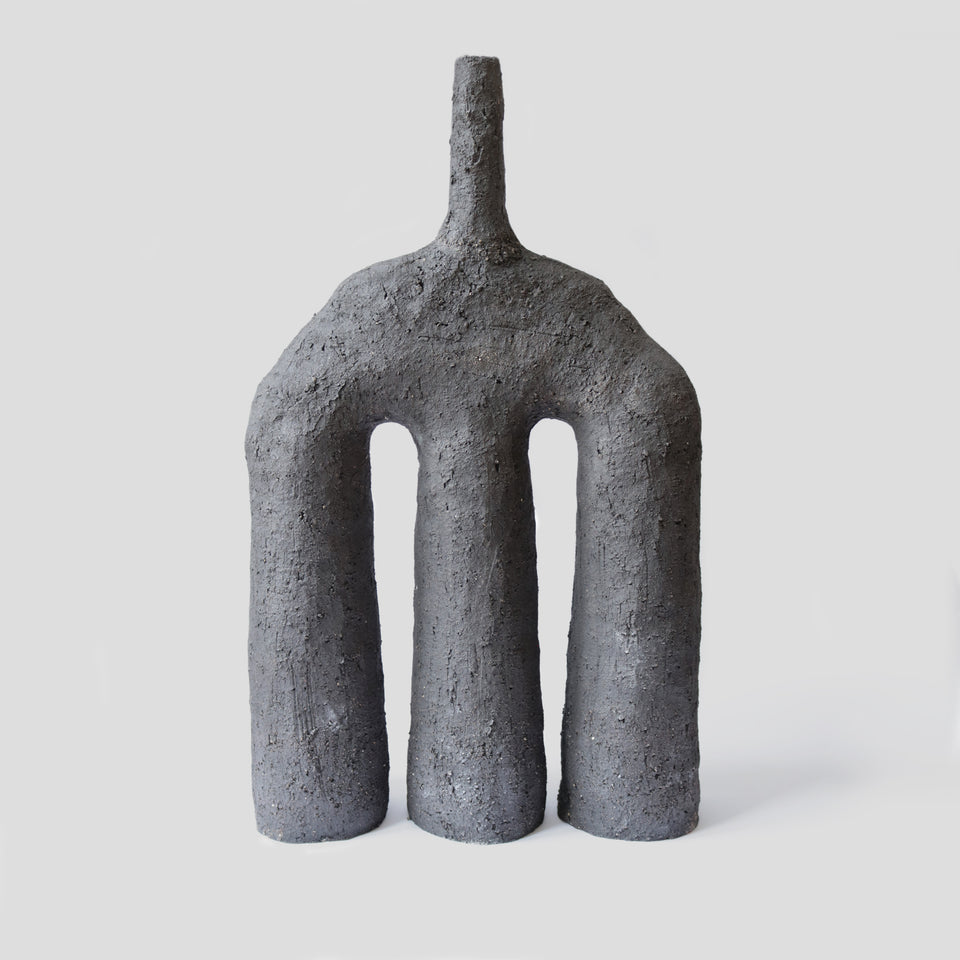 Large sculptural Vase The Volcano