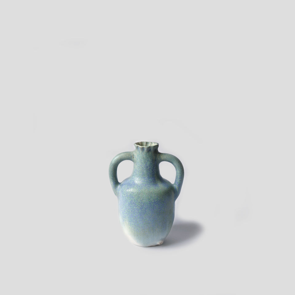 Light blue vase