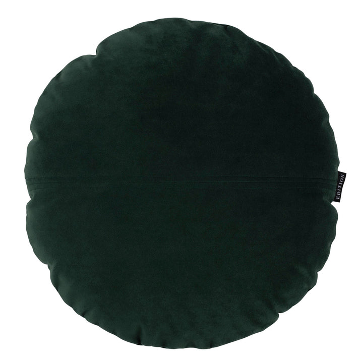 Juniper Round Luxury Velvet Cushion by Nathan + Jac - EDITION