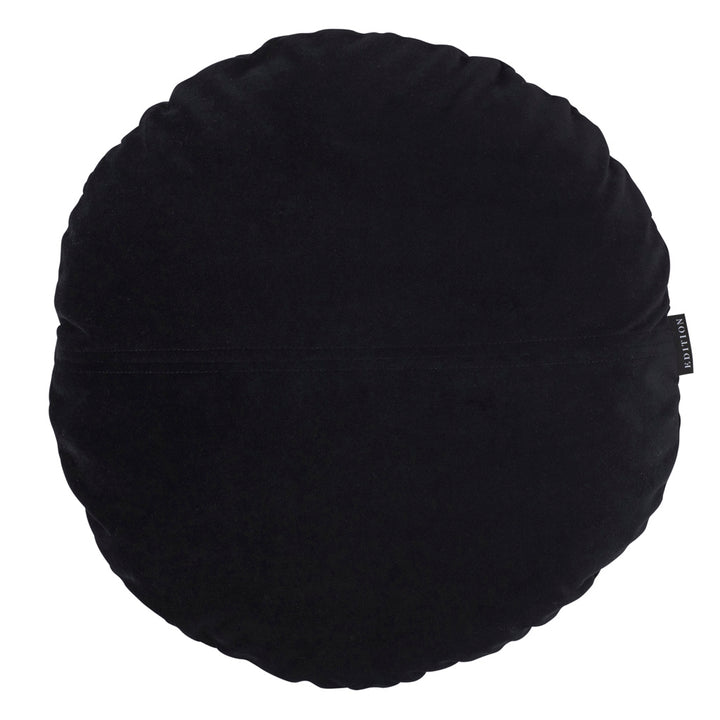 Joan Round Luxury Velvet Cushion by Nathan + Jac - EDITION