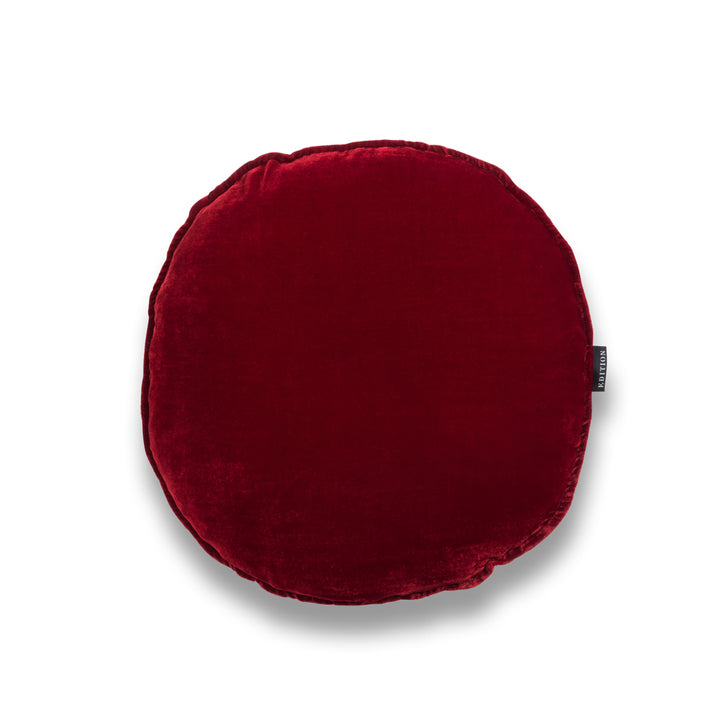 MJ Round Silk Velvet Luxury Cushion by Nathan + Jac EDITION