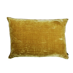 Minzi Lumbar Luxury Silk Velvet Cushion by Nathan + Jac - EDITION