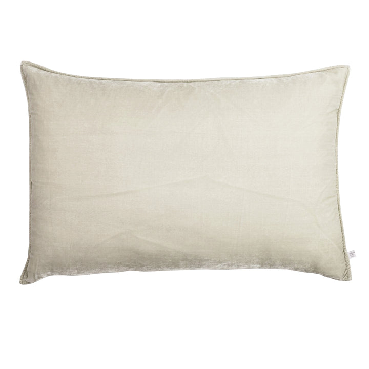 Pearl Lumbar Luxury Silk Velvet Cushion by Nathan + Jac - EDITION