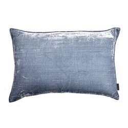 Powder Lumbar Silk Velvet Luxury Cushion by Nathan + Jac - EDITION