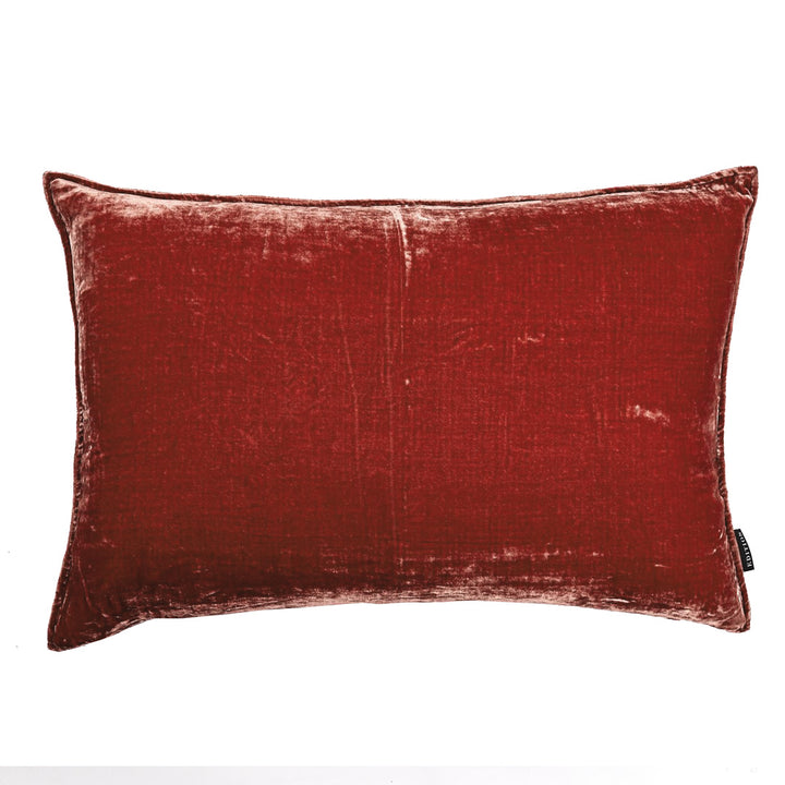 Coralie Lumbar Silk Velvet Luxury Cushion by Nathan + Jac - EDITION