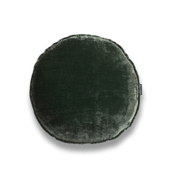 Florence Round Silk Velvet Luxury Cushion by Nathan + Jac - EDITION