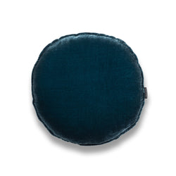George Round Silk Velvet Luxury Cushion by Nathan + Jac EDITION