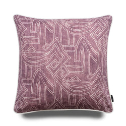 Harper Aztec 50cm Linen Luxury Cushion by Nathan + Jac - EDITION