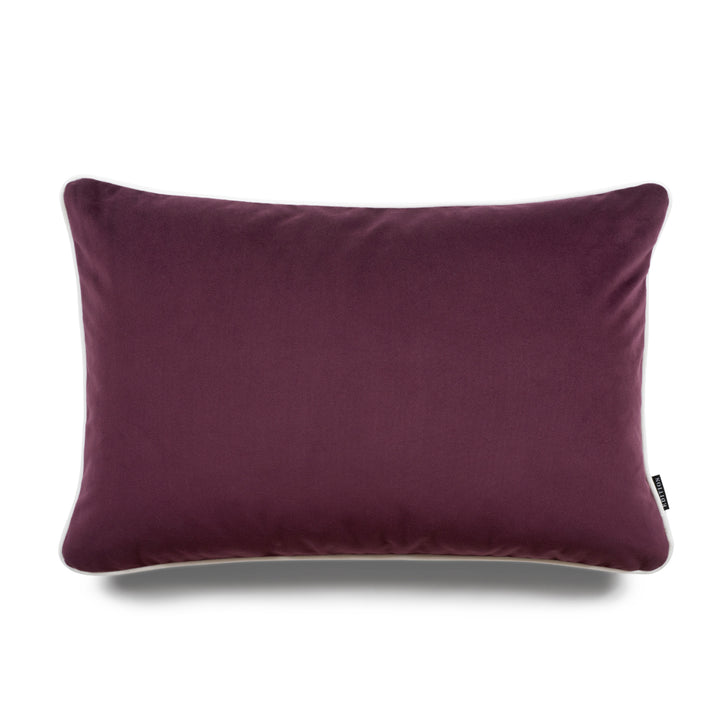 Harper Bold Lumbar Velvet Luxury Cushion by Nathan + Jac - EDITION