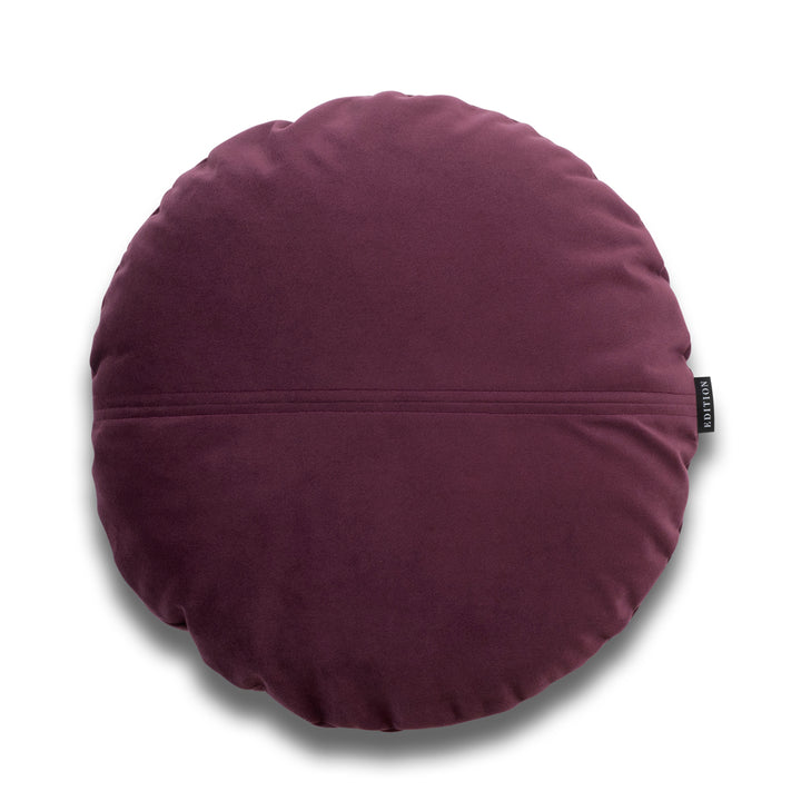 Harper Bold Round Velvet Luxury Cushion by Nathan + Jac - EDITION