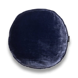 James Round Silk Velvet Luxury Cushion by Nathan + Jac - EDITION
