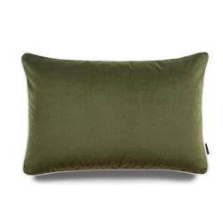 Jose Bold Lumbar Velvet Luxury Cushion by Nathan + Jac - EDITION