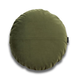 Jose Bold Round Velvet Luxury Cushion by Nathan + Jac - EDITION