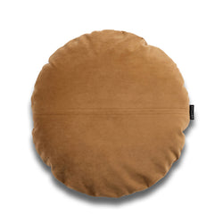 Leo Bold Round Velvet Luxury Cushion by Nathan + Jac - EDITION