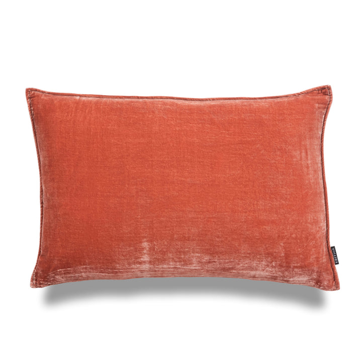 Lindsay Lumbar Luxury Silk Velvet Cushion by Nathan + Jac - EDITION