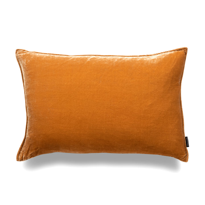 Louie Lumbar Luxury Silk Velvet Cushion by Nathan + Jac - EDITION