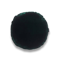 Luigi Round Silk Velvet Luxury cushion by Nathan + Jac - EDITION
