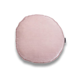 Patti Round Silk Velvet Luxury Cushion by Nathan + Jac EDITION