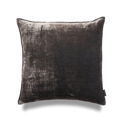 Mr Grey 50cm Silk Velvet Luxury Cushion by Nathan + Jac - EDITION