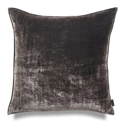 Mr Grey 60cm Silk Velvet Luxury Cushion by Nathan + Jac - EDITION