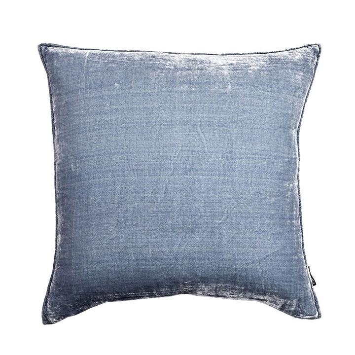 Powder 50cm Luxury Silk Velvet cushion by Nathan + Jac - EDITION