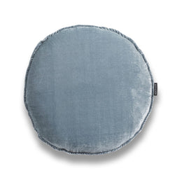 Powder Round Luxury Silk Velvet cushion by Nathan + Jac - EDITION