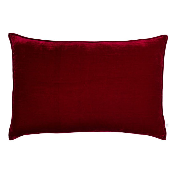 MJ Lumbar Silk Velvet cushion by Nathan + Jac - E D I T I O N