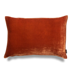 Riley Lumbar Luxury Silk Velvet Cushion by Nathan + Jac - EDITION