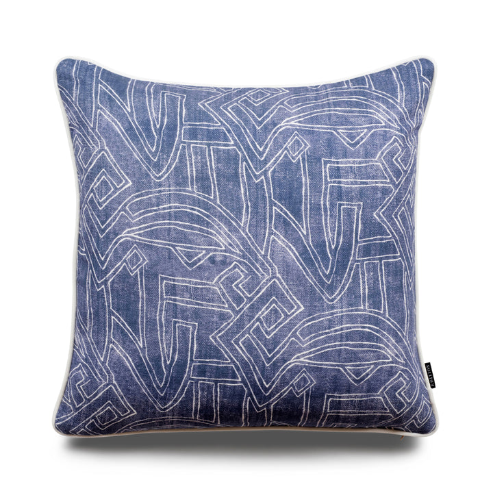 Stellan Aztec 50cm Linen Luxury Cushion by Nathan + Jac - EDITION