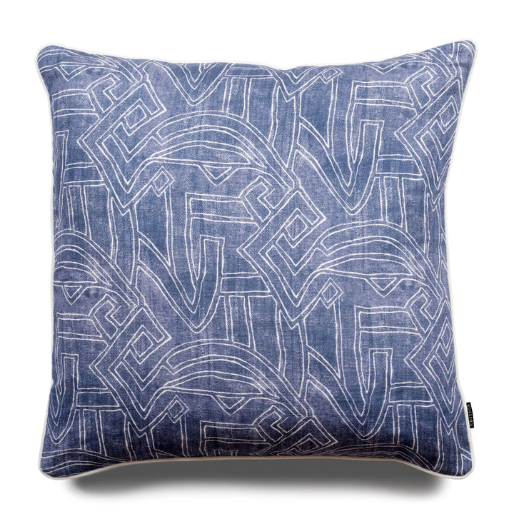 Stellan Aztec 60cm Linen Luxury Cushion by Nathan + Jac - EDITION