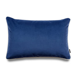 Stellan Bold Lumbar Velvet Luxury Cushion by Nathan + Jac - EDITION