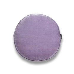 Willow Round Luxury Silk Velvet cushion by Nathan + Jac - EDITION