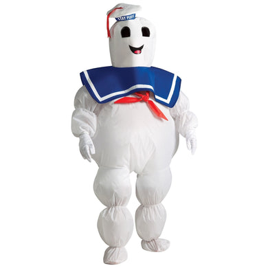 Inflatable Stay Puft Marshmallow Man Child's Costume from Ghostbusters