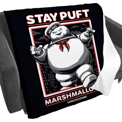 Product image of Stay Puft Marshmallow Man Fleece Blanket from Ghostbusters