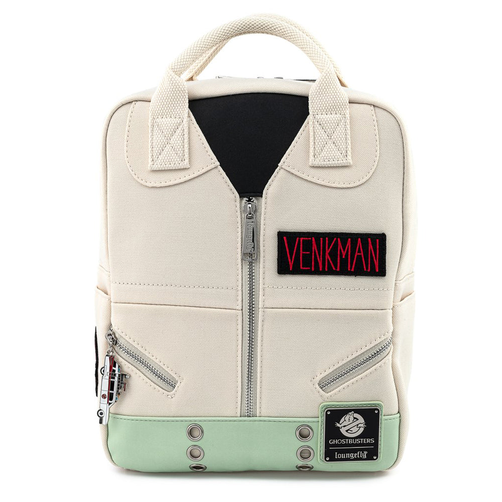 Ghostbusters Venkman Cosplay Square Canvas Backpack