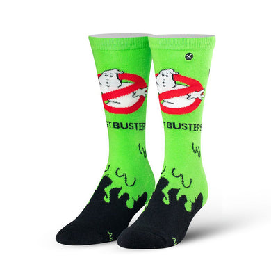 Ghostbusters Slime Knit Socks