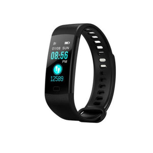 Y5 Wristband Heart Rate Blood Pressure Monitor Bluetooth Smart Watch