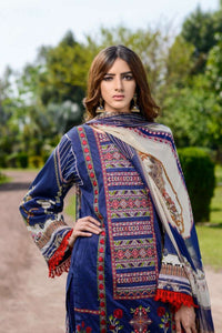 Luxury Emb Lawn Vol 1 3Piece Ar#202