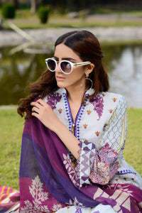 Luxury Emb Lawn Vol 1 3Piece Ar#205